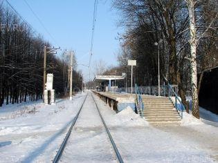 Королев, улица Железнодорожная (мкр. Первомайский), ж/д платформа «Фабрика 1 Мая»