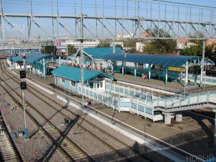 Фото железнодорожной станции «Болшево» (г. Королев, Станционная площадь)