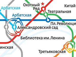 Схема Московского метро - Новый Королев